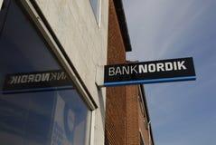 DENMARK_BANK NORDIK Royalty-vrije Stock Afbeelding