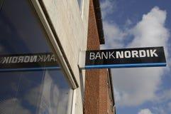 DENMARK_BANKNORDIK stock foto's