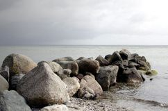 Denmark at Beach Stock Photos