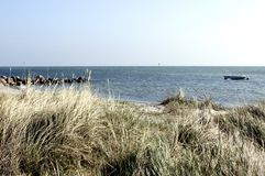 Denmark at Beach Stock Photography