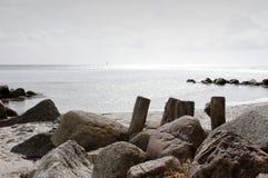Denmark at Beach Royalty Free Stock Photography