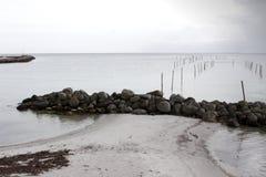 Denmark at Beach Royalty Free Stock Photo