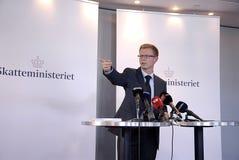 DENMARK_BENNY ENGEELBRIECHT_TAX MINISTER stock photo