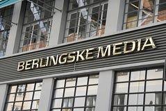 DENMARK_BERLINGSKE媒介被卖了 免版税库存照片