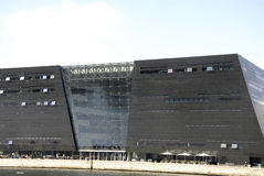 DENMARK_black diamond library building Stock Image