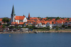 Denmark Bornholm Island Port of Ronne Royalty Free Stock Photos
