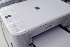 DENMARK_CANON PRINTER Royalty Free Stock Photography