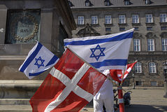 DENMARK_CHRISTIANS FÖR ISRAEL Arkivfoton