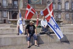 DENMARK_CHRISTIANS FÖR ISRAEL Fotografering för Bildbyråer