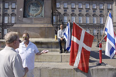 DENMARK_CHRISTIANS FOR ISRAEL Royalty Free Stock Photos