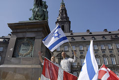 DENMARK_CHRISTIANS FOR ISRAEL Royalty Free Stock Images