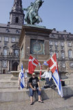 DENMARK_CHRISTIANS FOR ISRAEL Royalty Free Stock Photo