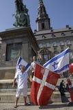 DENMARK_CHRISTIANS POUR L'ISRAËL Image stock