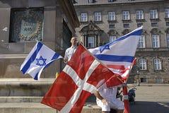 DENMARK_CHRISTIANS POUR L'ISRAËL Photos libres de droits