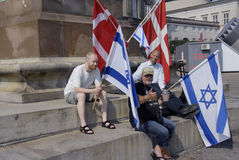 DENMARK_CHRISTIANS POUR L'ISRAËL Photos stock