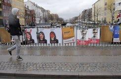 DENMARK_CITY理事会和RESGIONAL竞选 免版税库存图片