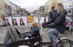 DENMARK_CITY理事会和RESGIONAL竞选 免版税图库摄影
