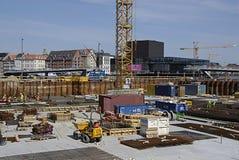 DENMARK_condo construction Royalty Free Stock Photo