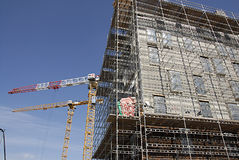 DENMARK_condo construction Royalty Free Stock Image