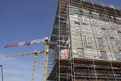 DENMARK_condo construction Royalty Free Stock Image