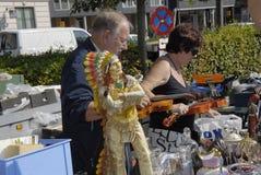 DENMARK_CONSUMERS ΠΑΖΑΡΙΩΝ Στοκ εικόνες με δικαίωμα ελεύθερης χρήσης