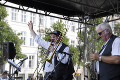 DENMARK_COPENHAGEN爵士节2014年 库存照片