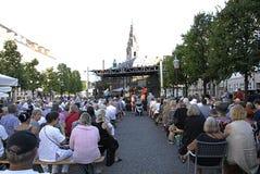 DENMARK_COPENHAGEN爵士节2014年 免版税库存照片