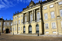 Denmark. Copenhagen. The Royal Palace in Copenhagen Stock Photography