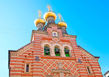 Denmark. Copenhagen. The Alexander Nevsky Church Royalty Free Stock Photography