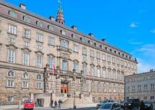 Denmark. Copenhagen. The Danish Parliament Stock Images