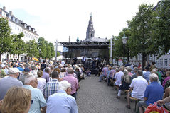 DENMARK_COPENHAGEN festiwal jazzowy 2014 Zdjęcia Stock