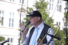 DENMARK_COPENHAGEN festiwal jazzowy 2014 Zdjęcie Royalty Free
