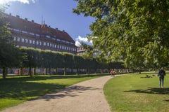 Denmark Copenhagen the grounds of Rosenborg Palace Royalty Free Stock Image