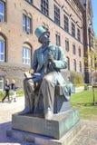 Denmark. Copenhagen. Hans Christian Andersen stock image