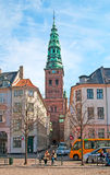 Denmark. Copenhagen. High Bridge Square Royalty Free Stock Images
