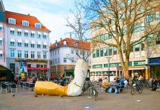 Denmark. Copenhagen. Kultorvet (Coal Market) Square Royalty Free Stock Photography