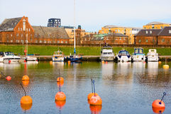 Denmark. Copenhagen. Langelinie Marina Royalty Free Stock Photo