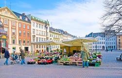 Denmark. Copenhagen. Nytorv (New Square) Stock Photo