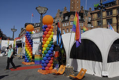 DENMARK_COPENHAGEN PRIDE 2014 Stock Photo
