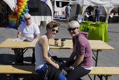 DENMARK_COPENHAGEN PRIDE 2014 Royalty Free Stock Photo