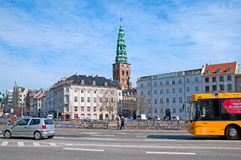 Denmark. Copenhagen. Transport In The Center Of The City Stock Photography
