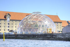 Denmark. Copenhagen. Vision dome Royalty Free Stock Photography