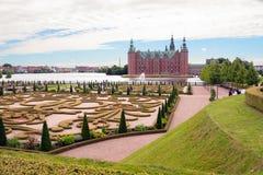 denmark copenhague Le palais de Frederiksborg Stationnement Photo stock