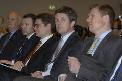 DENMARK_CROWN PRINCE FREDERIK_ISO 2600 Royalty Free Stock Images
