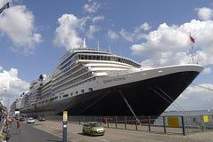 DENMARK_cruise船女王/王后维多利亚 免版税库存图片