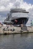 DENMARK_cruise skeppdrottning victoria Arkivbilder