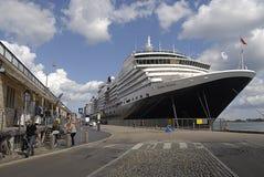 DENMARK_cruise statku królowa Victoria Zdjęcia Royalty Free