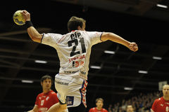 Denmark - Czech Republic. At the Cimber Sterling Cup in Denmark Royalty Free Stock Photo