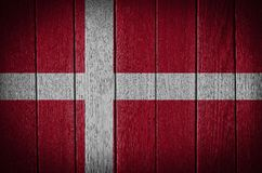 Denmark, danish flag Royalty Free Stock Image