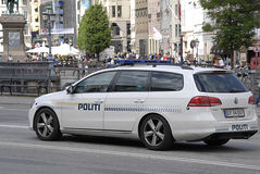 DENMARK_danish police in action Stock Photography